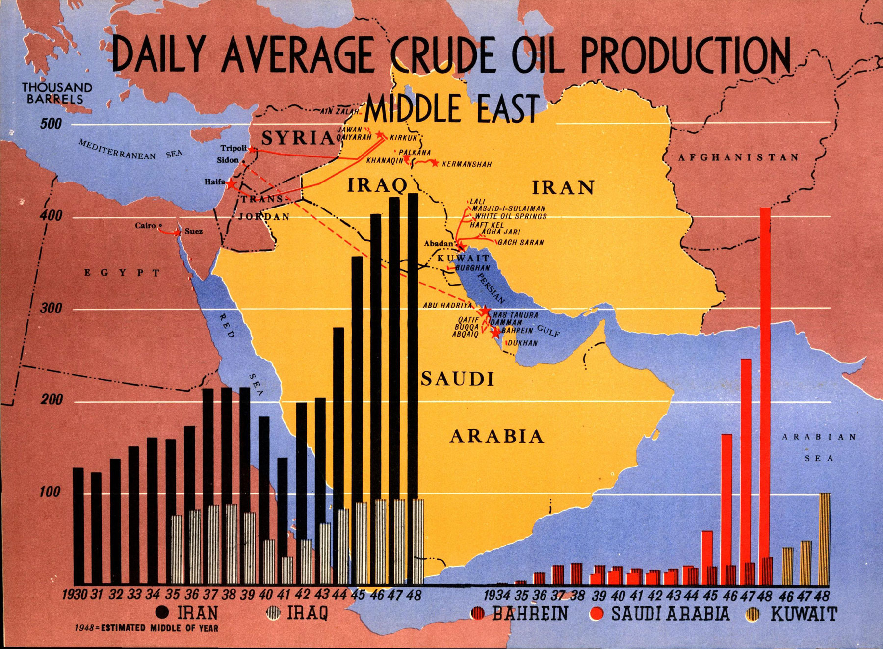 US Britain Planned To Deny Mideast Oil Wells To Soviet Invaders - Map of the middle east us war plan
