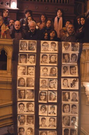 Relatives continue to search for the tens of thousands of disappeared in Argentina.