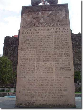 The Dead Of Tlatelolco