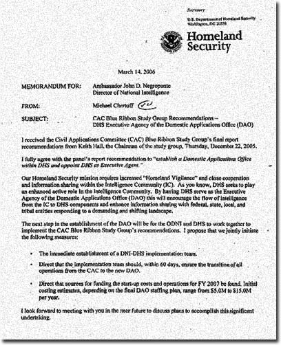 memo on dhs to president Secretary of state and the secretary of homeland security have begun  implemcnting those improvements pursuant to section 6(a), this memorandum  reflects.