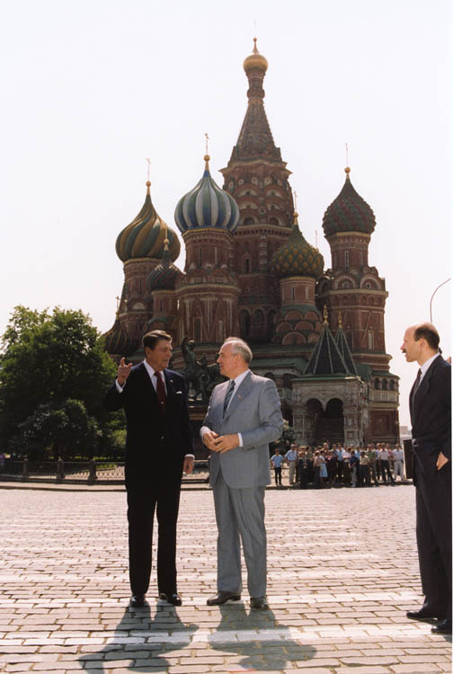 essay reagan gorbachev 1988 speech The cold war in the 1980s was driven by reagan's policies and attitudes towards the soviet union - reagan's  essays & papers reagan  reagan and gorbachev.