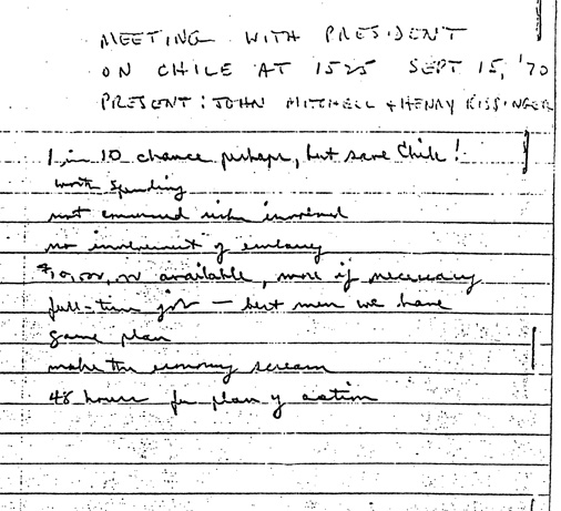 National Security Archive documents