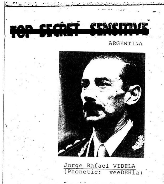 Argentiniens Militärdiktator Jorge Videla (1976-1981): Unter seiner Herrschaft wurde gefoltert und gemorde