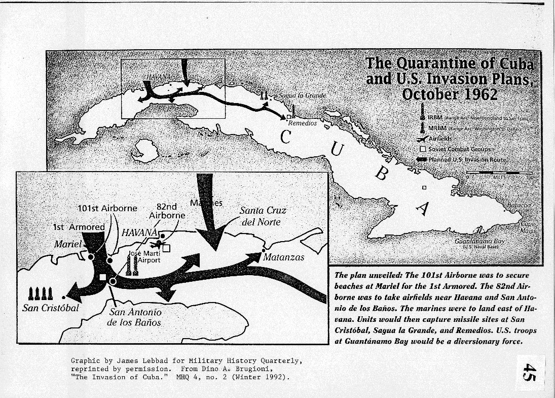 an analysis of the cuban missile crisis as the result of castros fear of the united states invasion The cuban missile crisis—known as the caribbean crisis in russia and the october crisis in cuba—was a dramatic confrontation from 22 to 28 october 1962 between the united states and the soviet union over the soviet stationing of nuclear missiles in cuba.